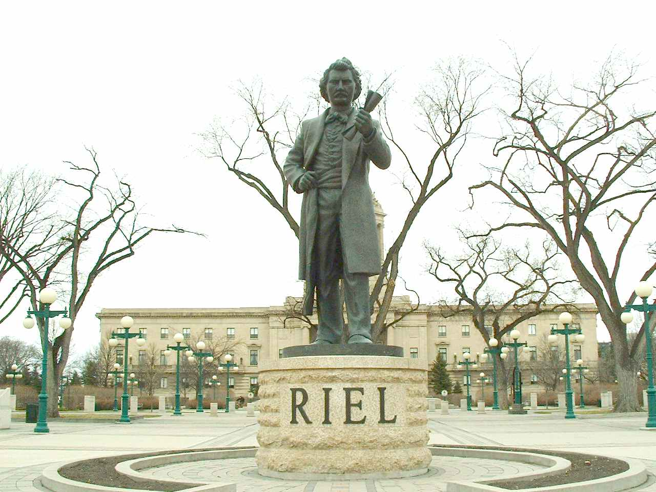 louis david riels role in the confederation of manitoba Louis riel's handwritten poems displayed for the public  public opinion has changed in recent years and riel is now respected for the role in played in bringing manitoba into confederation monday's provincial holiday is named louis riel day in his honour - cbc.