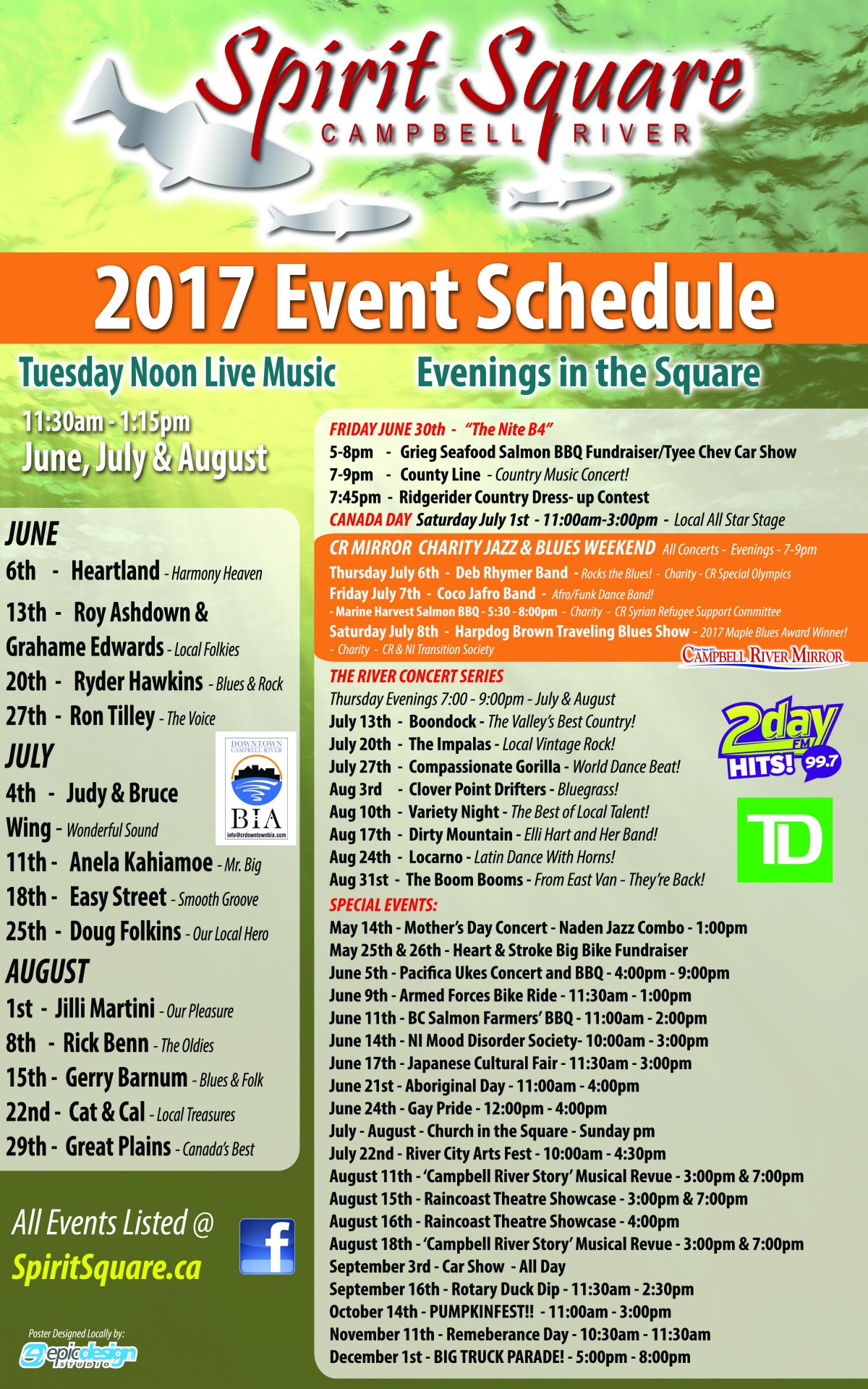 2017 Spirit Square Concert Series My Campbell River Now