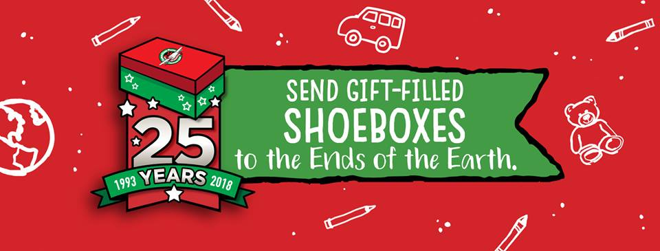 Christmas Shoebox.Operation Christmas Child Shoebox Campaign Underway My