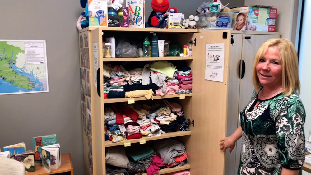 """""""Cupboard"""" helps expectant families with clothing, supplies"""