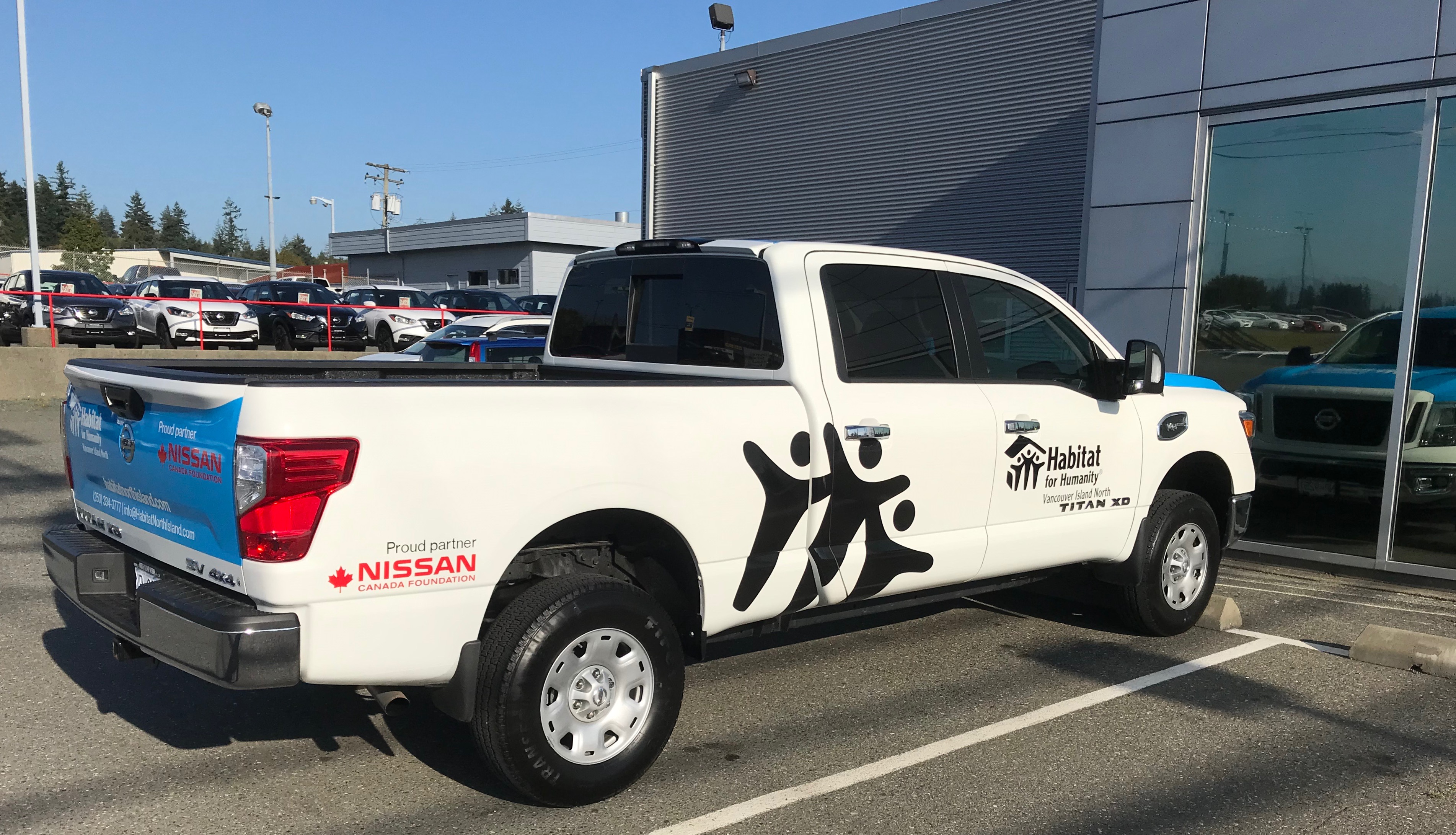 Nissan Campbell River >> Habitat Vancouver Island North Receives New Truck My