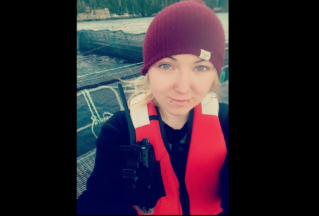 Comox Valley woman speaking up for open-pen fish farms