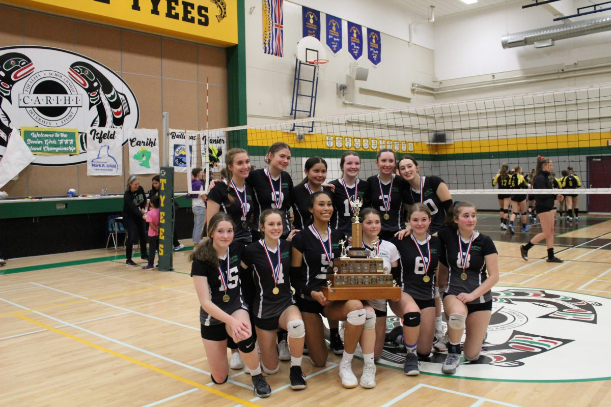 Carihi Secondary senior girls volleyball team heading to provincials - My Campbell River Now