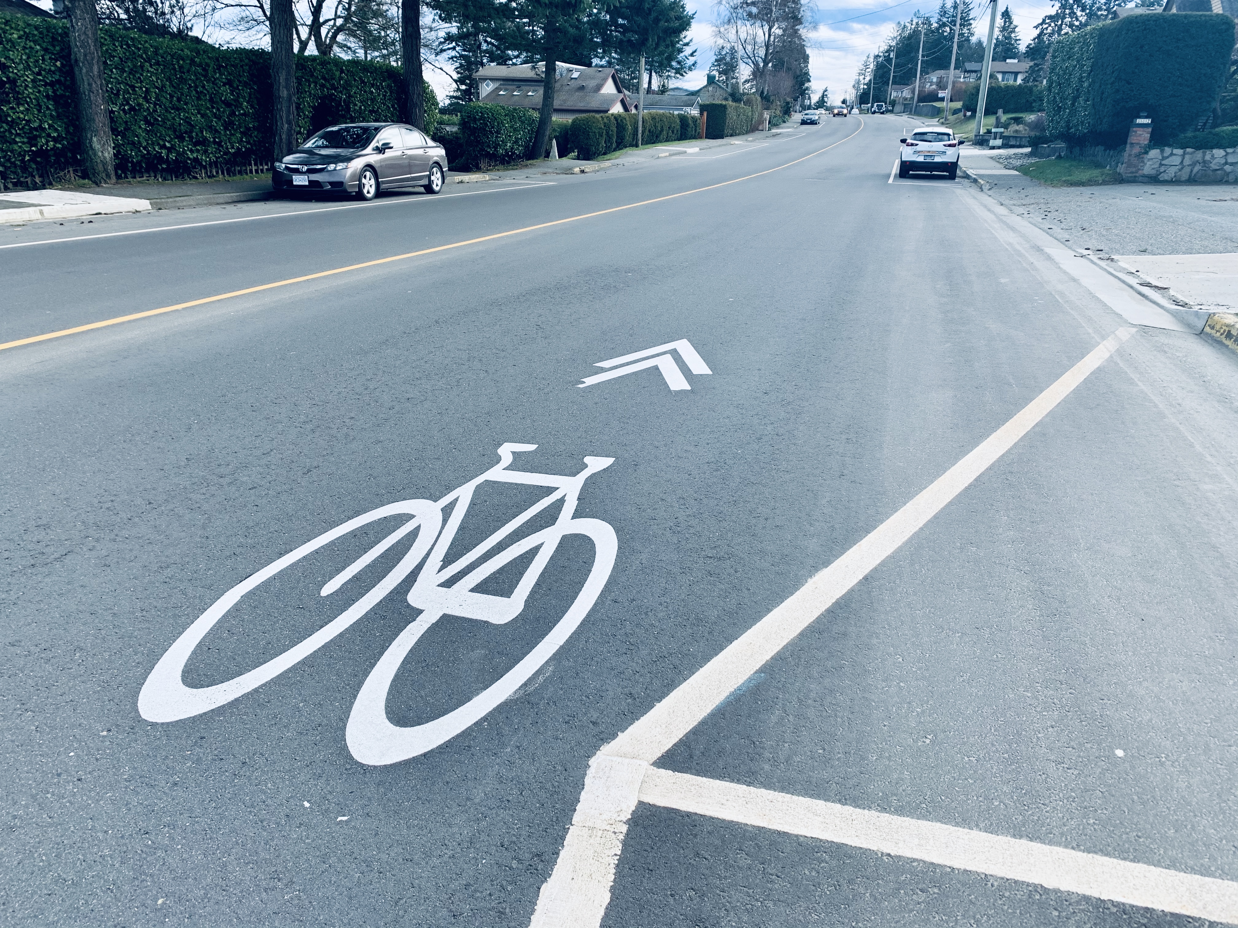 City of Campbell River to install new bike lanes along Highway 19A